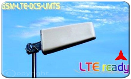 AR1031.1 Logarithmic broadband antenna  High Gain, band 3g GSM-R umts  dcs gsm lte 4g 700 - 960 MHz 1710 - 2700 MHz