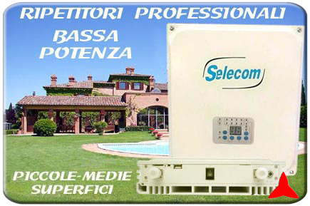 MICRO RIPETITORE 3G 4G 2G GSM UMTS LTE PROFESSIONALE - AMPLIFICATORE TELEFONICO